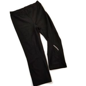 🌴Xersion Performance Mid Rise Black Cropped Pants